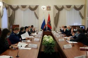 Брянская областная дума 24 декабря проведёт очередное заседание
