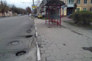 Капремонта улицы Брянской Пролетарской дивизии не хватило и на два года