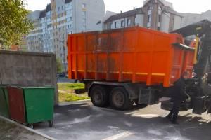 В Брянске ликвидировали свалку у детской площадки на улице Горбатова