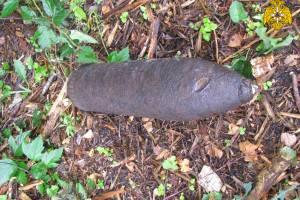 В поле под Карачевом нашли артиллерийский снаряд