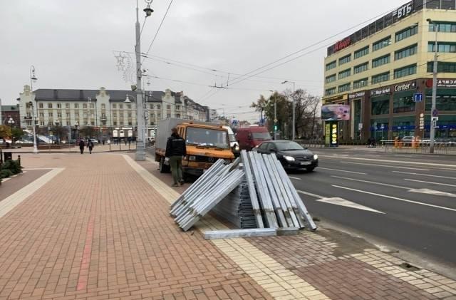 Брянску показали пример сноса в городе уродливых заборов