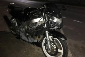 В Унече автоледи врезалась в мотоцикл и покалечила двоих мужчин