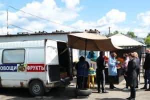 В Брянске работников рынков проверили на соблюдение правил режима самоизоляции