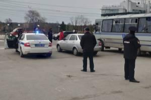 На набережной Брянска начались первые задержания участников митинга