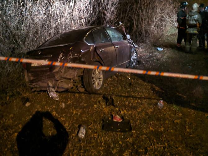 В Брянске появились фото с места смертельного ДТП на Речной
