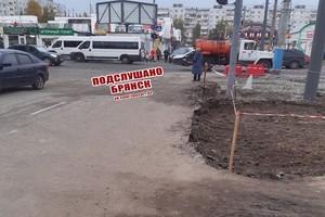 В Брянске третий день не работает светофор на улице Авиационной