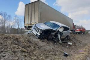 В жуткой аварии под Жуковкой погиб 39-летний мужчина