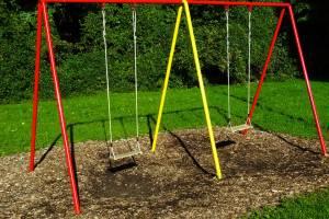 В Рогнединском районе нашли опасные детские площадки