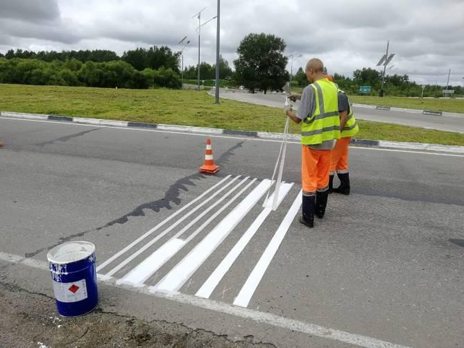 На трассе М-3 в Брянской области нанесут шумовую разметку