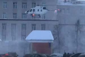 Медики не спасли доставленного на вертолете из Погара в Брянск мужчину