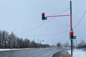 В Брянске на 4 светофорах установят светоидные панели