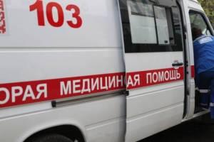 Под Почепом столкнулись микроавтобус и легковушка: ранены пятеро