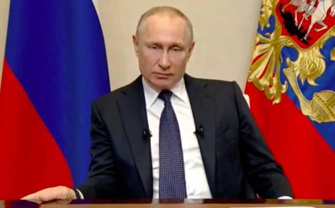 Путин вновь обратится к нации из-за ситуации с коронавирусом