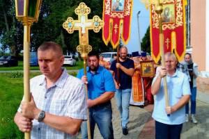 В брянском селе Госома память мучеников Бориса и Глеба почтили крестным ходом