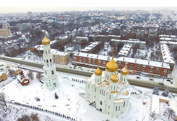 Брянцам предложили запечатлеть зимнюю красоту храмов для фотоконкурса