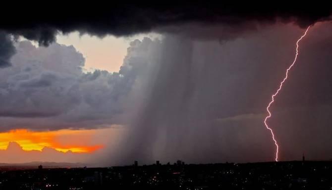 В Брянской области прогнозируются дожди с грозами