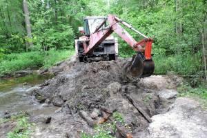 В «Брянском лесу» устраняют последствия разгула стихии