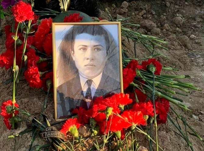 В Новозыбкове перезахоронили останки бойца Красной Армии