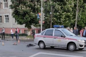 В Новозыбкове машина Росгвардии сбила ребёнка на самокате