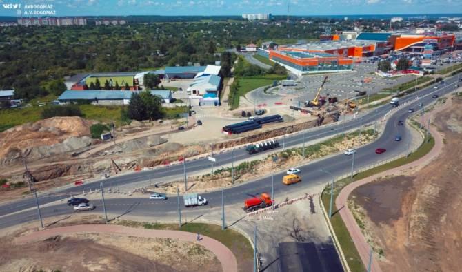 В Брянске строительство улицы Советской завершат в этом году