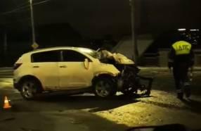 В Брянске на Городищенской горке произошло серьезное ДТП