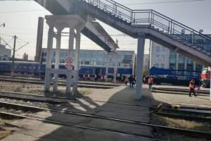 На вокзале «Брянск-I» пешеходный мост снесут до 30 сентября