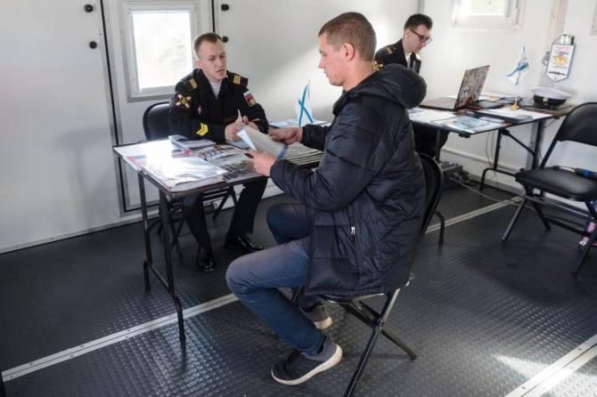 Брянских парней позвали служить по контракту на Северном флоте