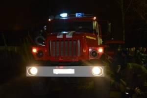 В Брянске из-за пожара в многоэтажке на улице Лермонтова эвакуировали 7 человек