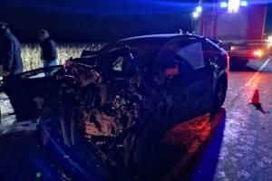 В жутком ДТП под Брянском четыре человека погибли и четверо ранено