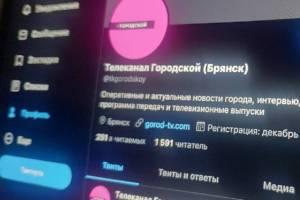 Через месяц брянцы рискуют остаться без Твиттера