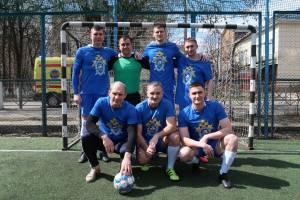 Брянские следователи стали вторыми в спартакиаде общества «Динамо» по мини-футболу