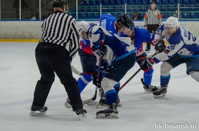 Брянские хоккеисты на своем льду разгромно проиграли белгородцам