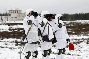 На Брянщине военные провели первые в стране учения нового типа