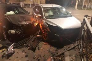 В Брянске водитель Ford устроил жуткое ДТП на Ульянова
