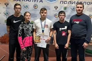 Брянец взял «золото» на международных соревнованиях по полиатлону