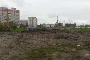 В брянском поселке Чайковичи ликвидировали огромную свалку