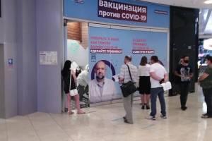 Брянец снял на видео огромную очередь на вакцинацию в московском ТЦ «Европейский»