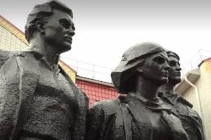 В Брянске обновленный памятник Трем героям подсветят прожекторы