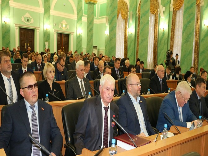 Депутаты Брянской облдумы приняли региональный бюджет