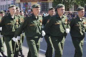 В Брянске начались репетиции Парада Победы