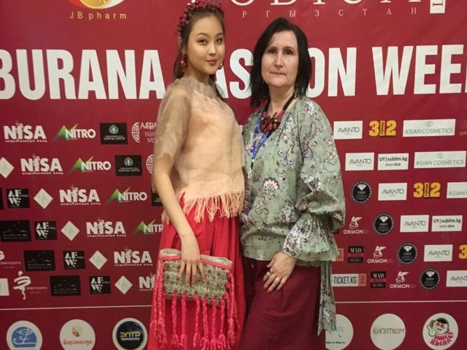 Брянская дизайнер удостоилась Кубка на модном показе в Бишкеке