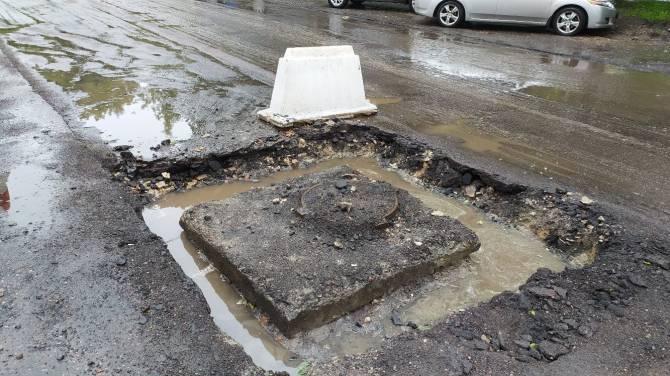 Брянских водителей предупредили об опасности на улице Фокина