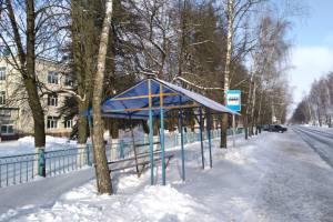 В посёлке Локоть отремонтировали пробитый «домик Ниф-Нифа»