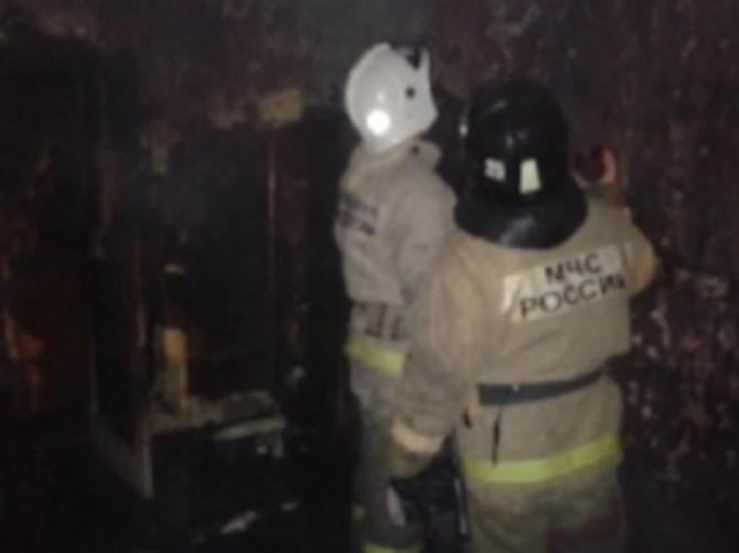 В Суземском районе сгорел жилой дом