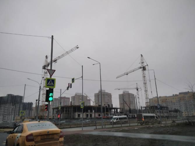 В Брянске начали строить третий этаж нового здания УМВД