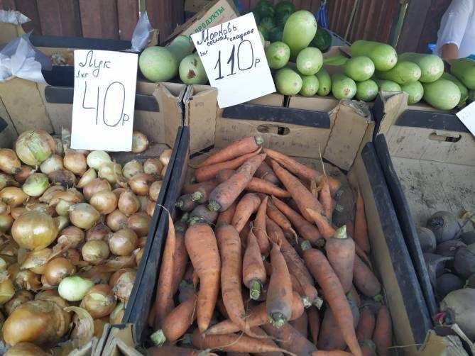 В «процветающей» Брянской агро-области взлетели цены на морковь