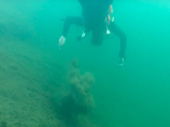 В Брянске о красотах Круглого озера дайверы сняли фильм