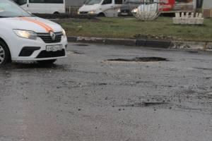 «Без лишних слов»: уничтоженные дороги на въезде в Бежицу