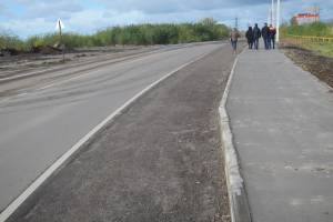 В Брянске подрядчик напортачил с тротуарами на улице 22-го Съезда