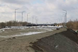 В Брянске для новой дороги от Metro к вокзалу завезли более 1 млн кубометров грунта